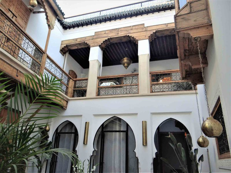 DAR ETERNITY, GUEST HOUSE, RIAD, MARRAKECH, MÉDINA, PATIO