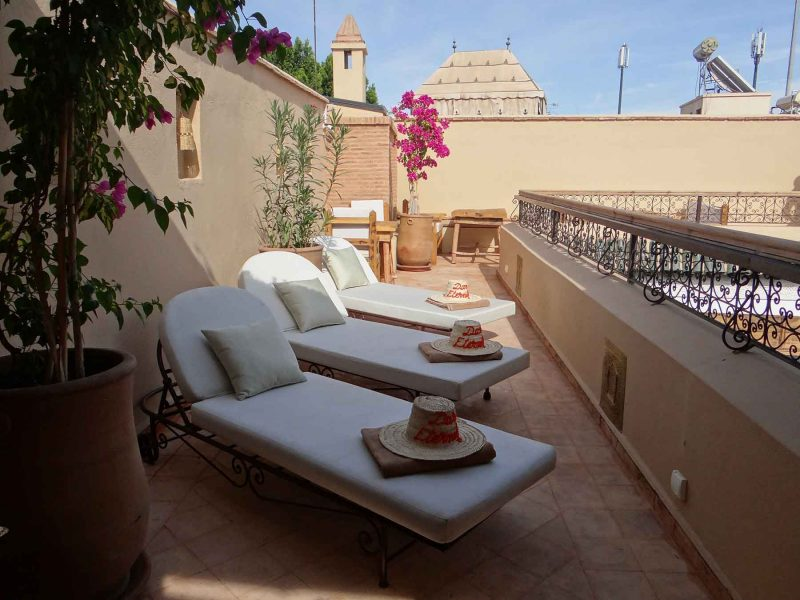 DAR ETERNITY, GUEST HOUSE, RIAD, MARRAKECH, TERRASSE