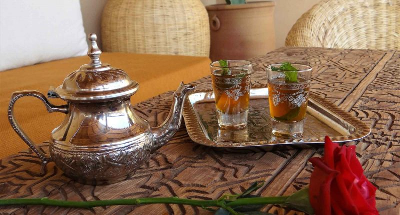 DAR ETERNITY, GUEST HOUSE, RIAD, MARRAKECH, THÉ, RESTAURATION